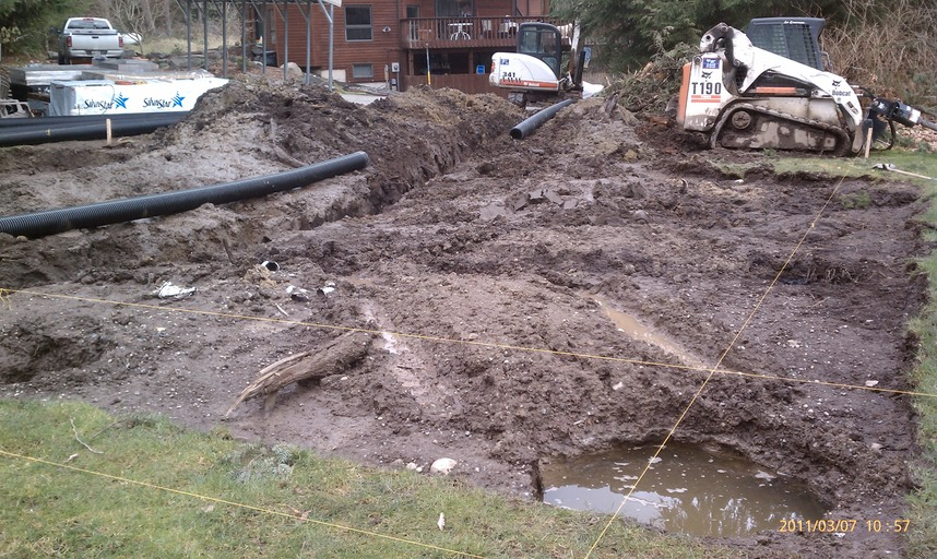 Drainage solutions highmark enterprises llc for Residential drainage solutions